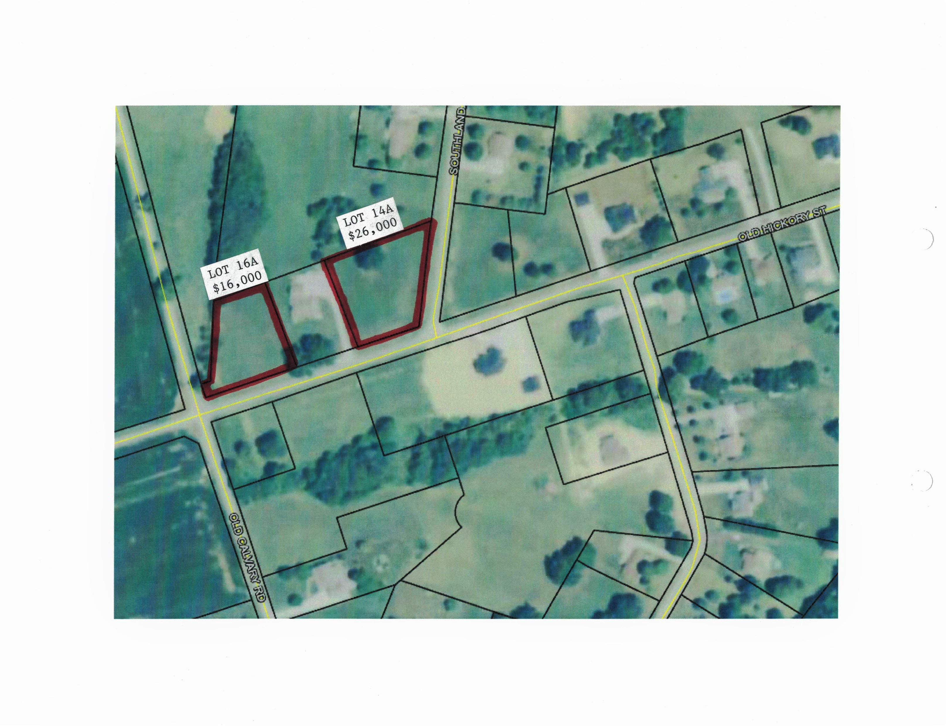 2 Lots – January Woods Subdivision Old Hickory Drive – Lebanon
