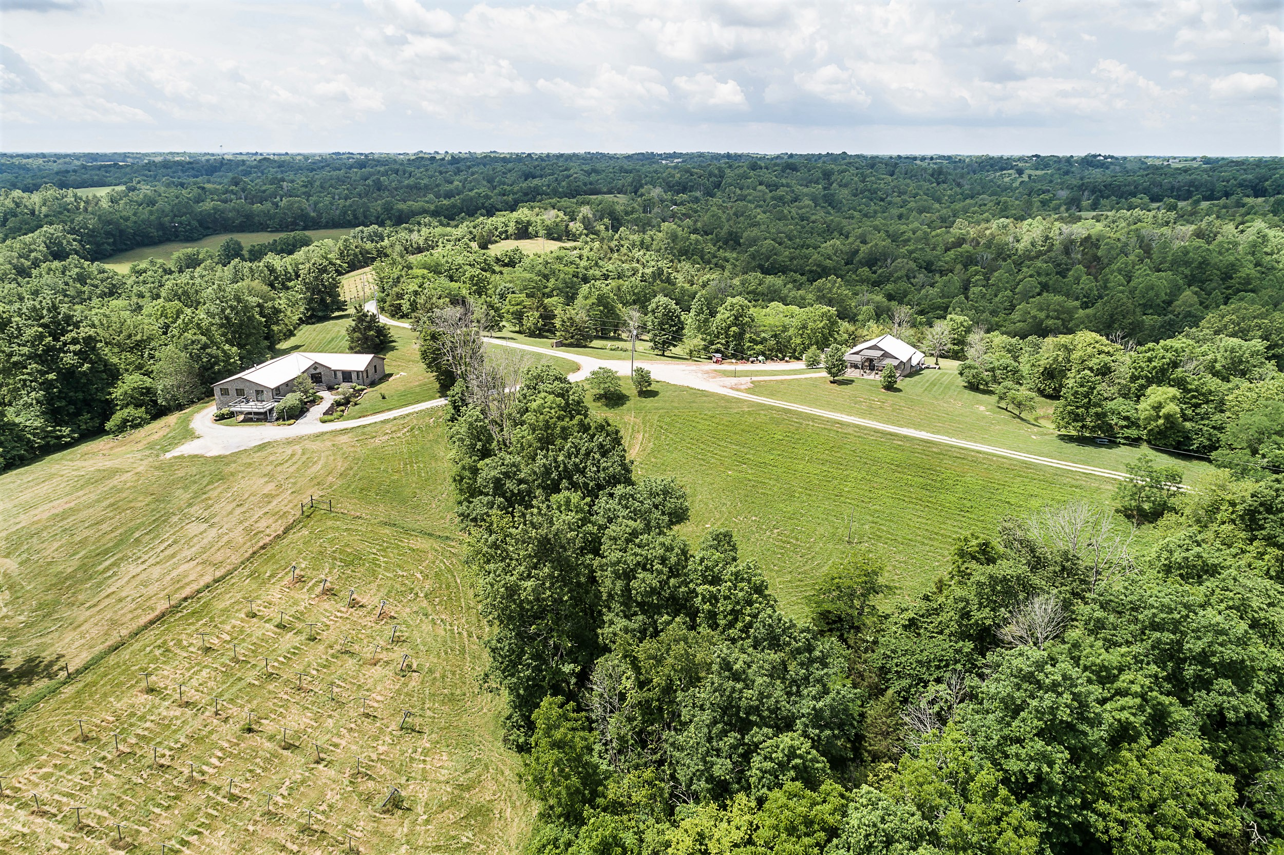 Horseshoe Bend Winery Home, Guest Home & 98.029 Acres (+/-) 1187 Lawson Lane – Willisburg